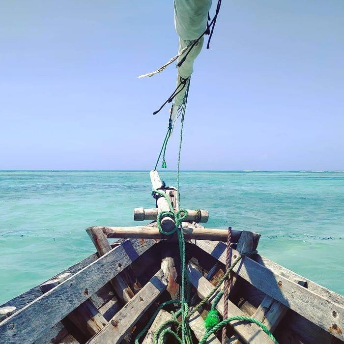 Экскурсия на традиционной лодке, Занзибар