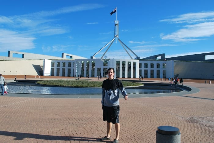 Столица Австралии Канберра