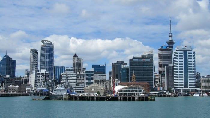 Самый большой город Новой Зеландии