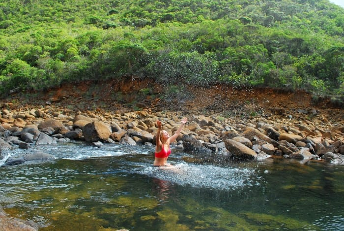 Горные реки в северной части острова