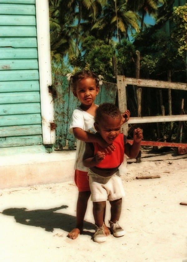 Дети на улицах Розо