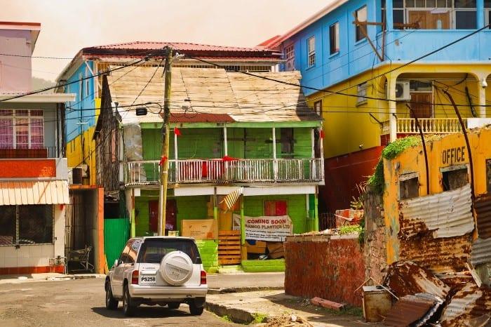 Цветные домики столицы