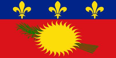 gvadelupa Flag
