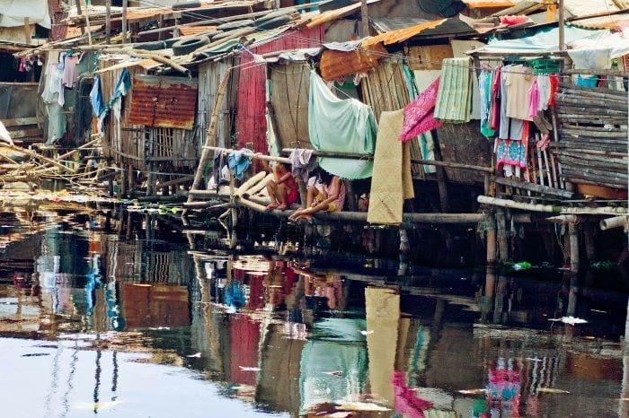 Трущобы, где живут бедные, Манила