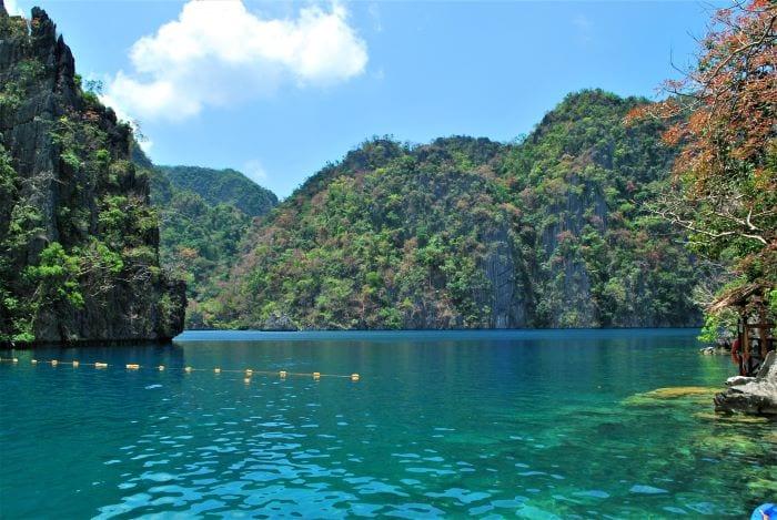 Прекрасное озеро Барракуда, Филиппины