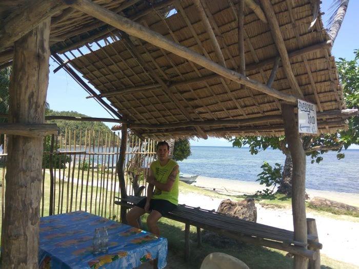 Ресторан на острове Бусуанга