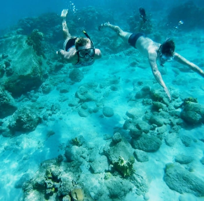 Видимость отличная в Карибском море