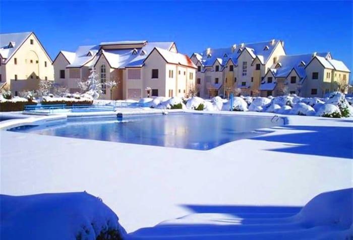 Альпийская деревня Ифран