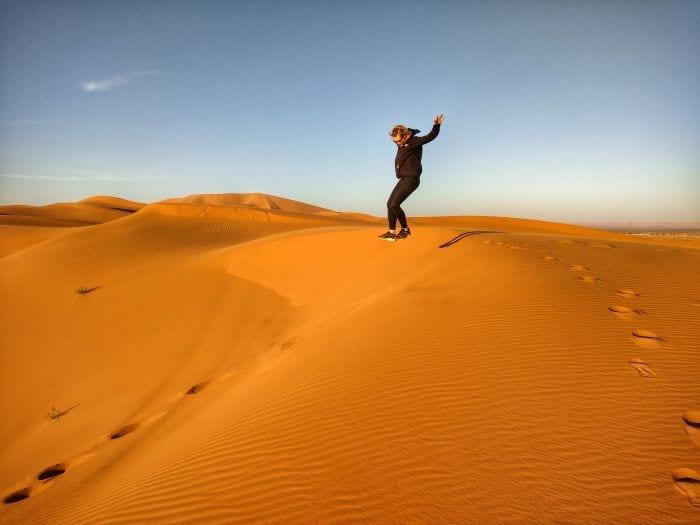 Пустыня Сахара в Марокко