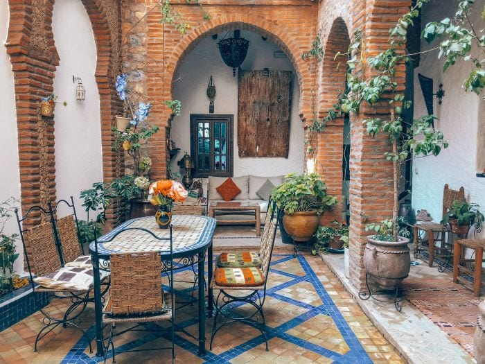 Риад - отель в марокканском стиле