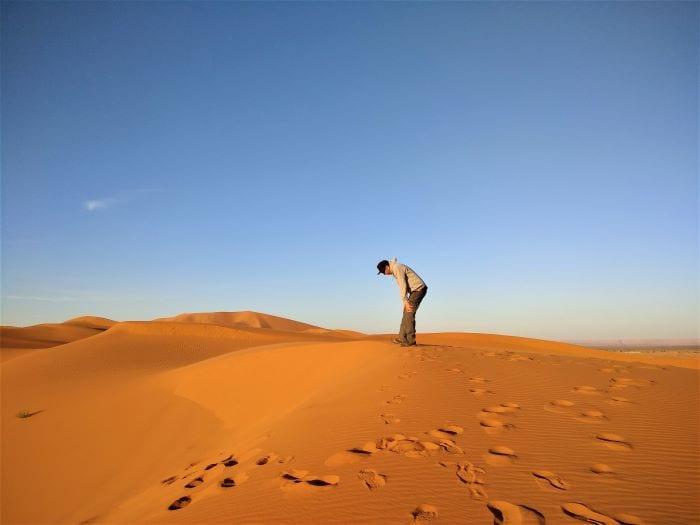 Пустыня Сахара, Эрг-Шебби