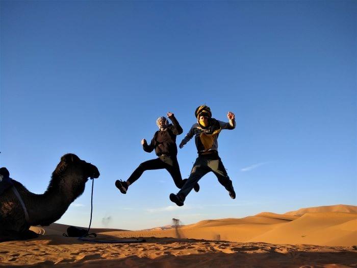 Катание на верблюдах по пустыне Сахара