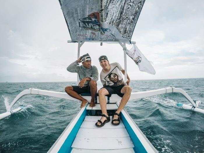 Экскурсия на лодке на Бали