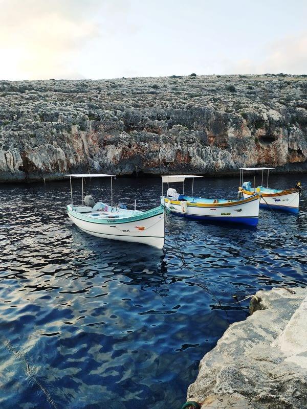 Голубой грот, Мальта