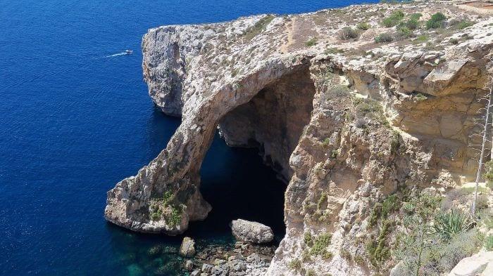 Голубой грот на Мальте