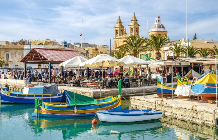 Набережная Мальты