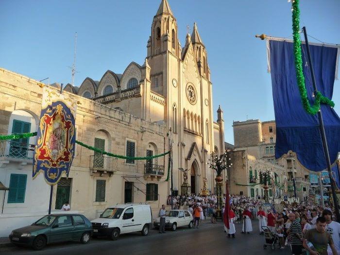Фестиваль, город Слима