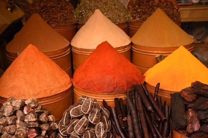 Специи из Марокко