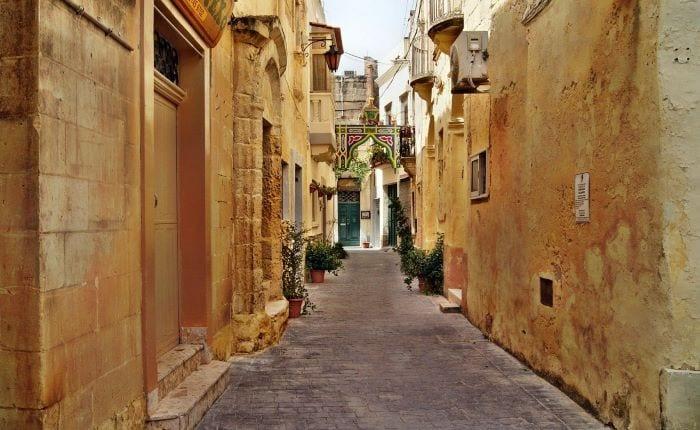 Улицы Валлетты, Мальта