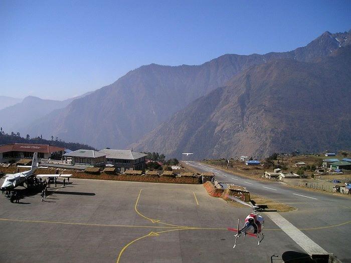 Аэропорт Тенцинга и Хиллари в Непале
