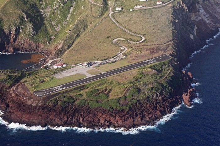 Опасный Аэропорт острова Саба