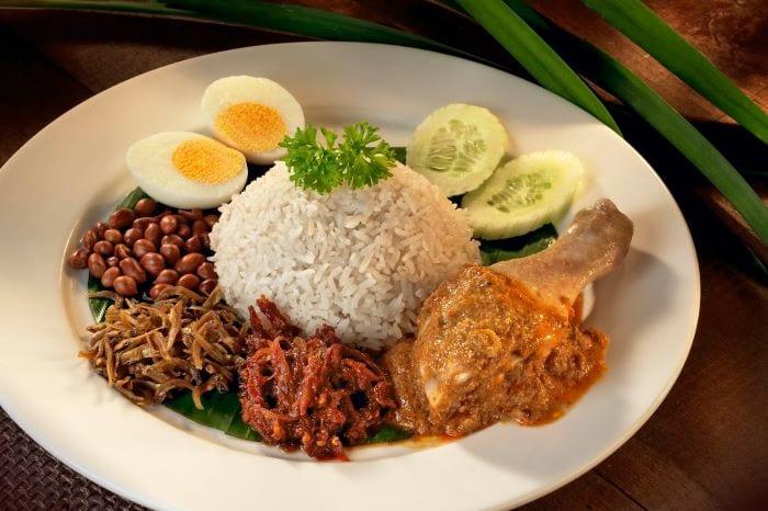 Традиционная еда Малайзии