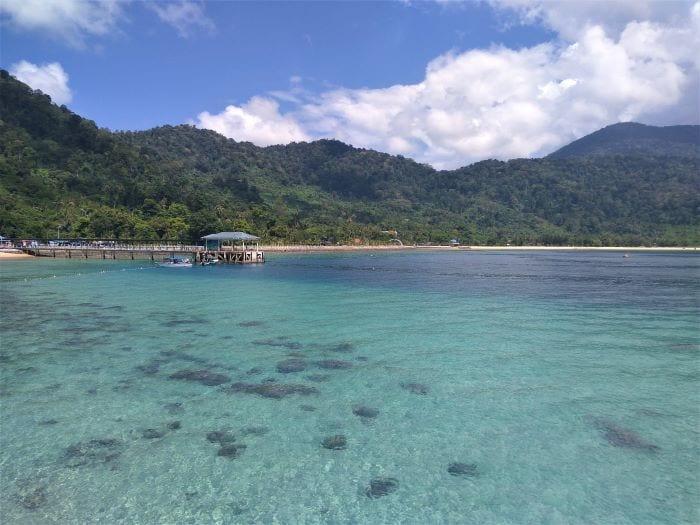 Побережье острова Тиоман