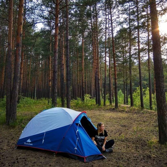 Поход по Южному Уралу с палаткой