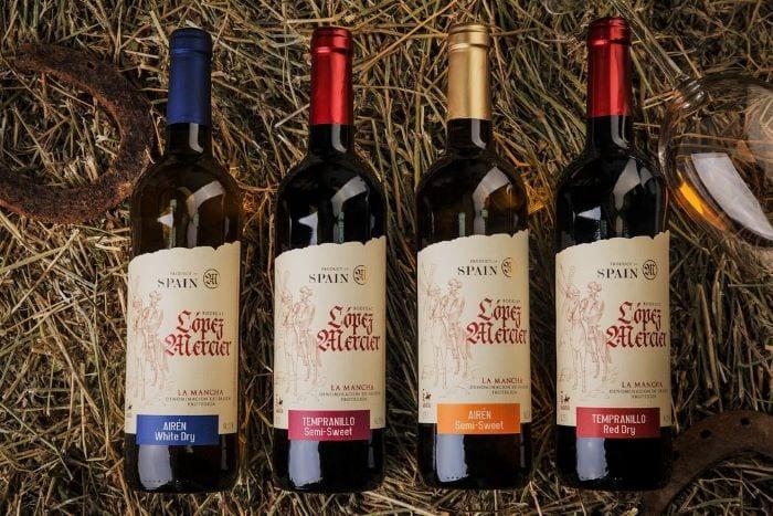 Испанское вино в сувенир
