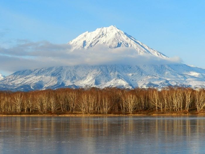 Вулканы Камчатка