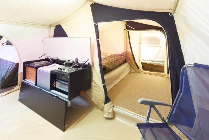прицеп палатка с комнатами