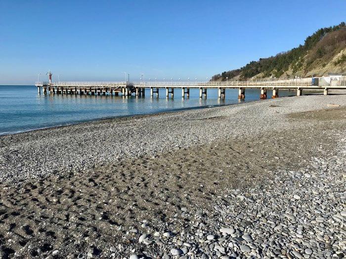 Дикий пляж Дагомыса
