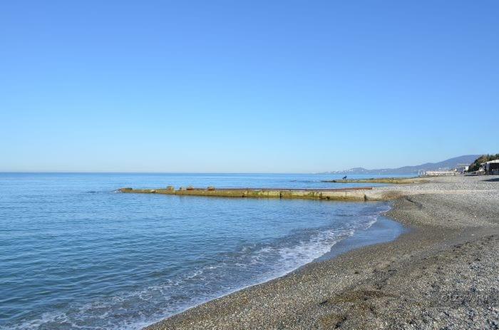 Дикие пляжи Сочи и Адлера