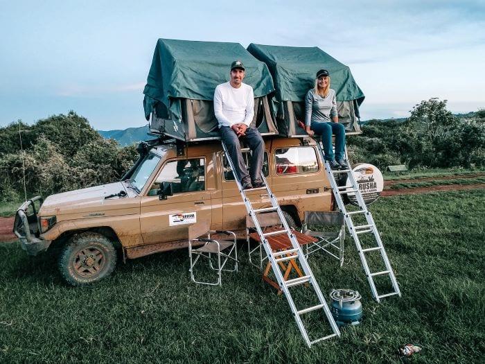 Палатка на крышу авто: удобно ли так путешествовать?
