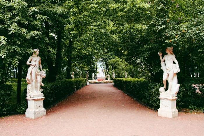 Летний сад СПб