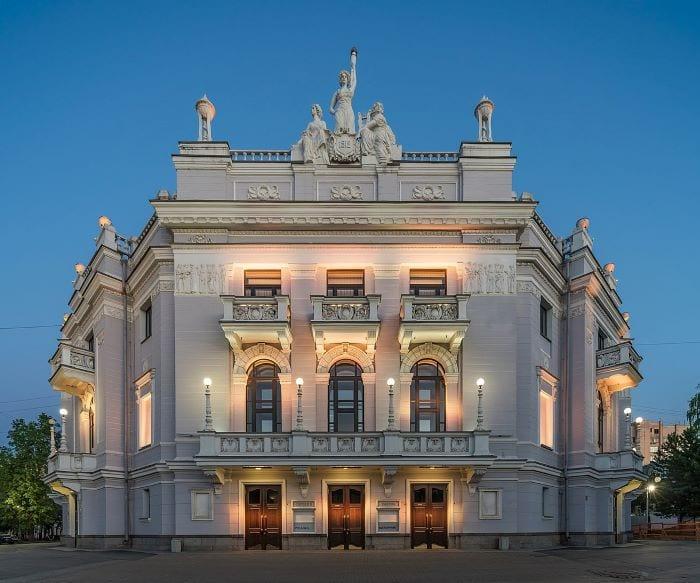Театр оперы и балета в Екатеринбурге