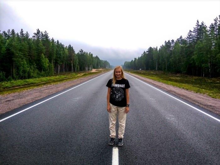 На машине в Карелию
