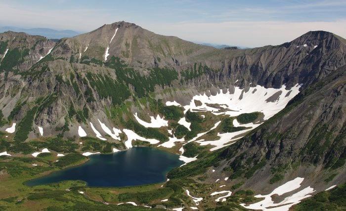 Голубые озера Камчатки