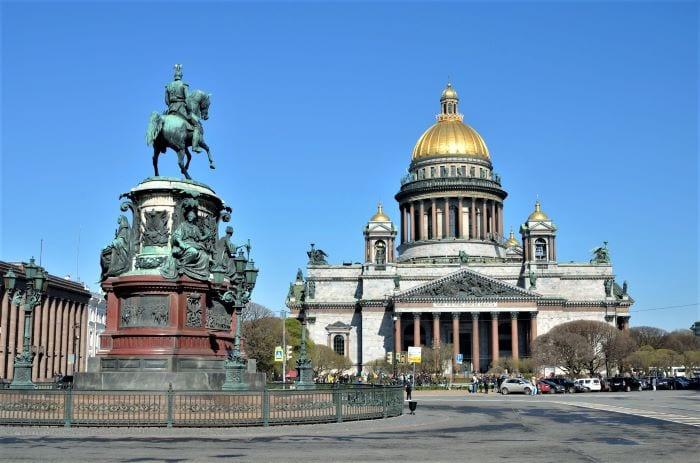 Исаакиевский собор и Исаакиевская площадь