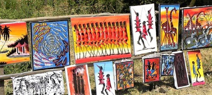 Картины из Занзибара