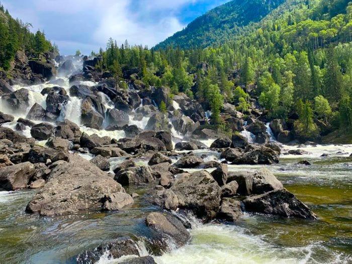 Водопад Учар, Алтайский заповедник