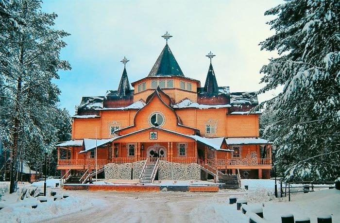 Дом деда мороза Великий Устюг