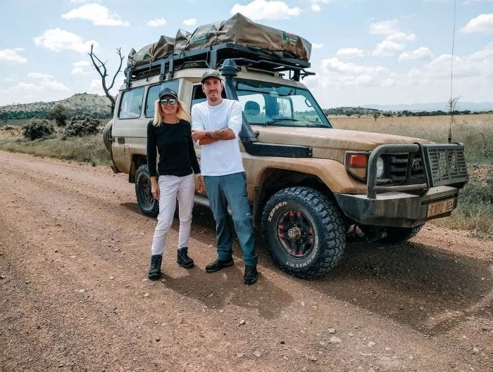 На машине по Танзании