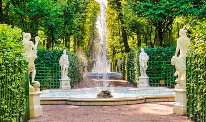 Летний сад, Парки Санкт-Петербурга