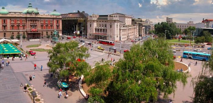Площадь Республики Бедград