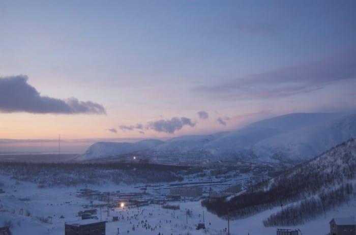 Горные лыжи Кировск
