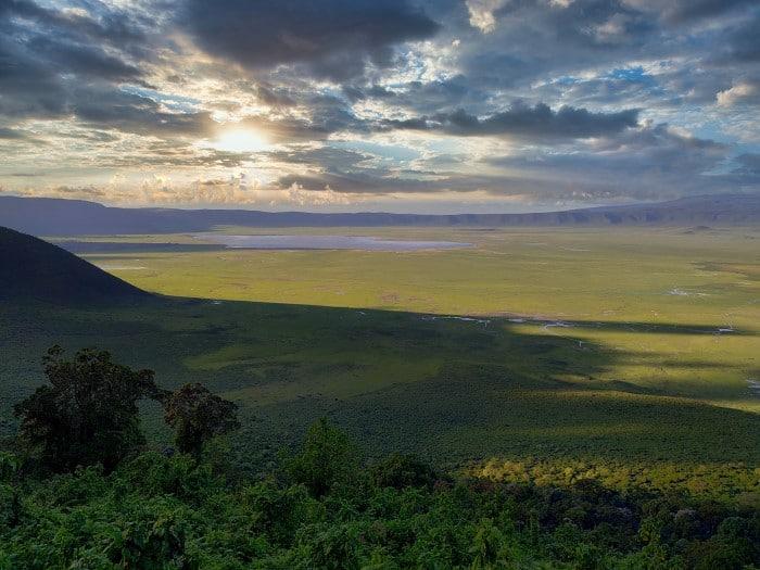 Нгоронгоро кратер