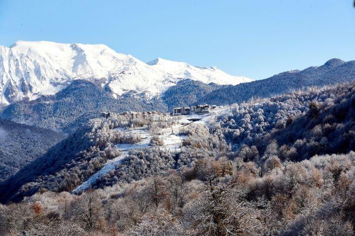 Роза Хутор горные лыжи