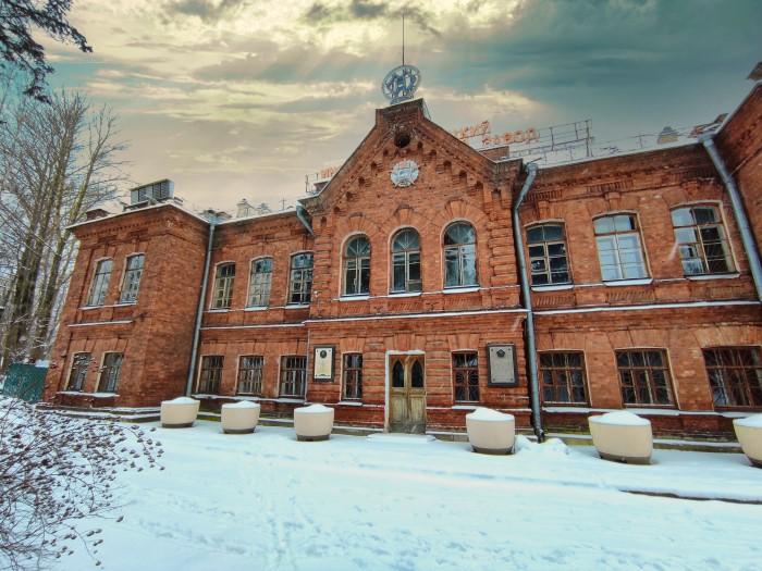 Оружейный завод в Сестрорецке