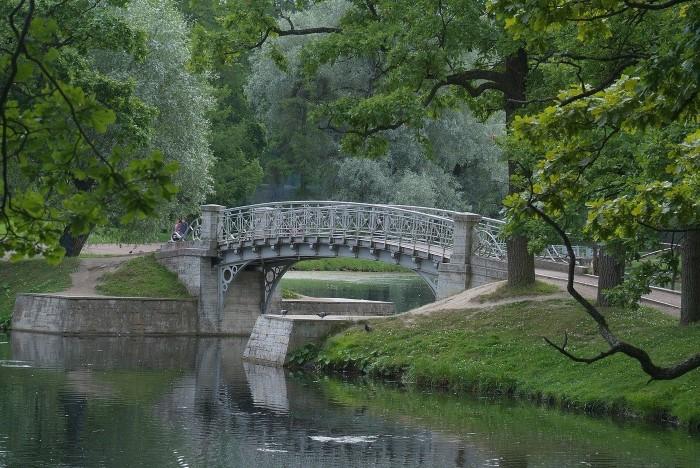 Дворцовый парк Гатчина